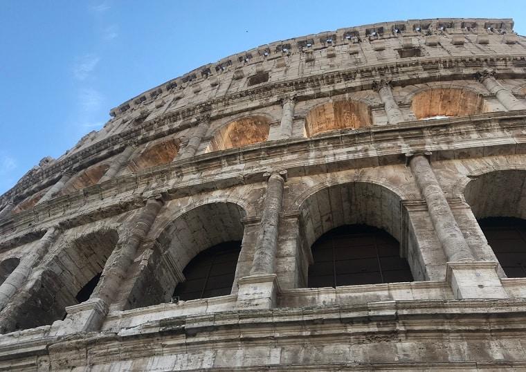 coliseo romano niveles