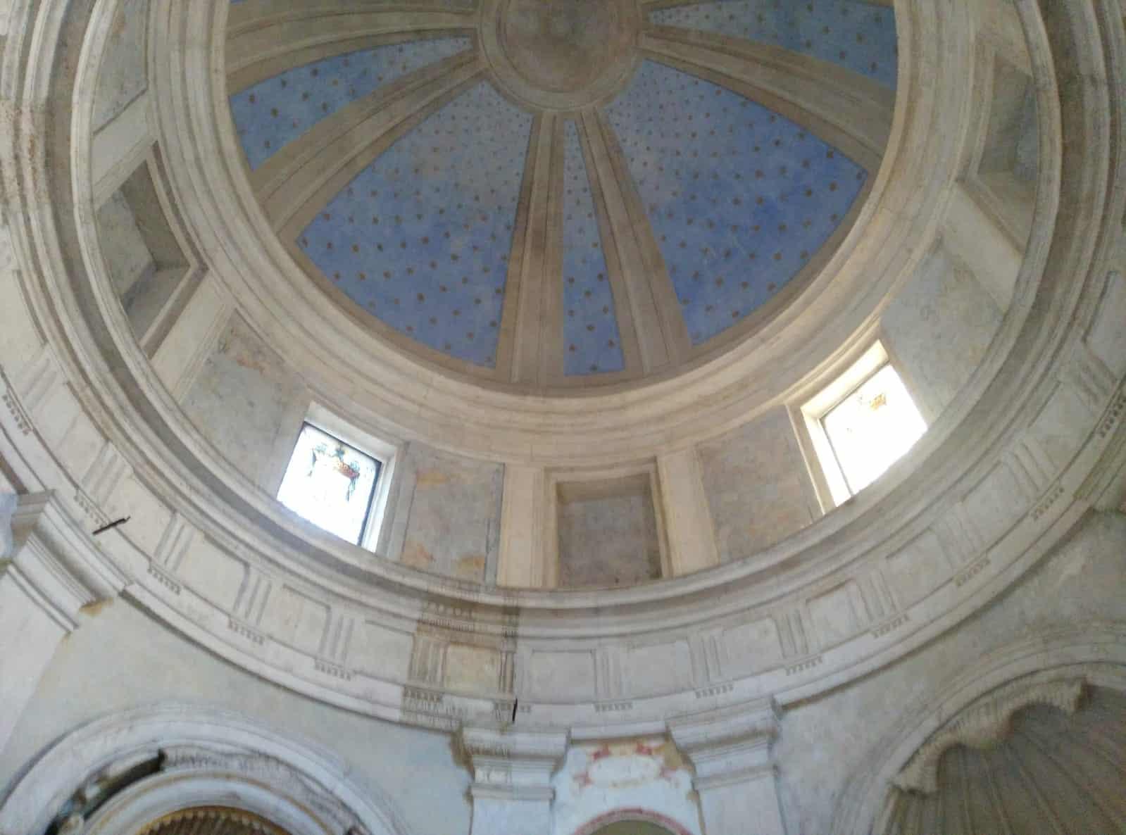 interior templete bramante