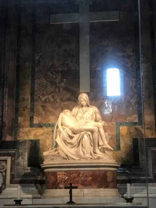piedad miguelangel basilica san pedro