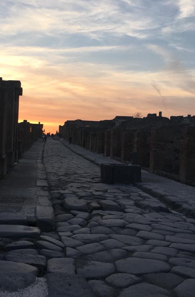 pompeya calle tour a pompeya desde Roma