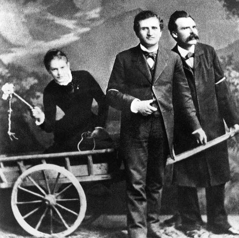 99 cosas que hacer en roma Lou Andreas Salomé Paul Rée y Nietzsche