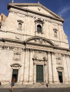 santa maria in vallicella fachada