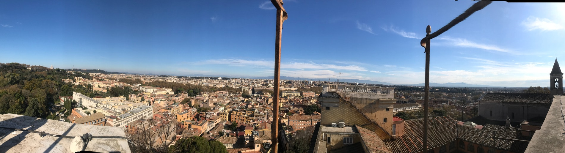 vista roma torre academia gianicolo