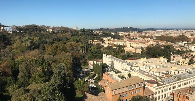vistas roma gianicolo torre academia espana