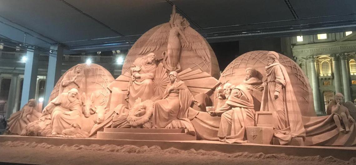 belen navidades roma