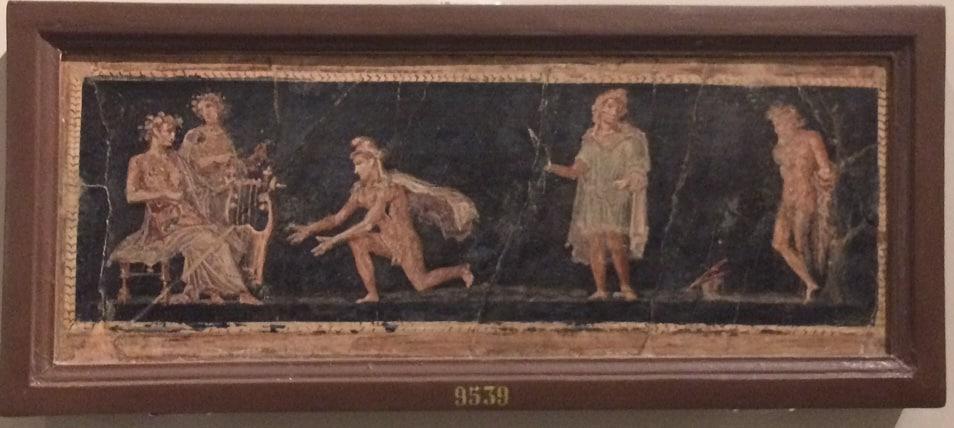 castigo Marsias ante Apolo