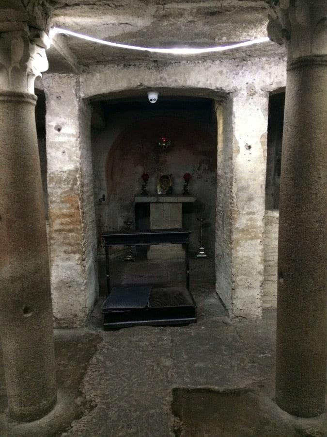 cripta santa maria cosmedin