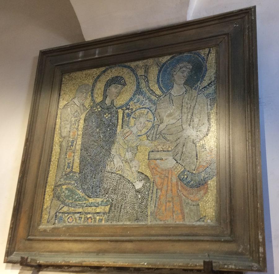 mosaico santa maria cosmedin
