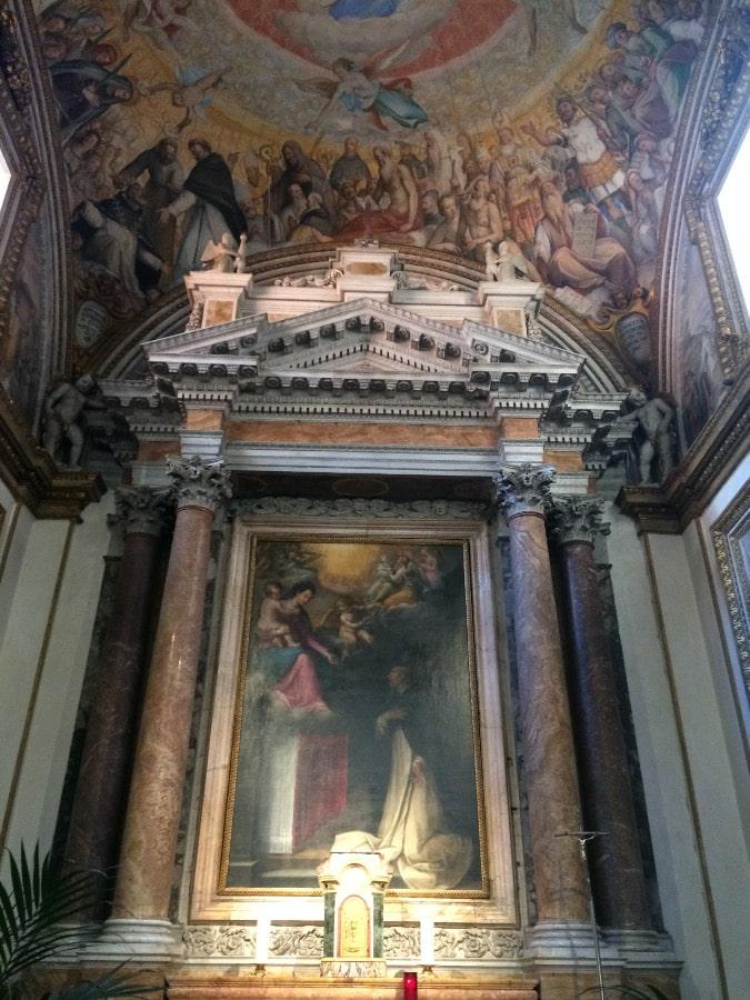 san jacinto lavinia fontana federico zuccari en santa sabina