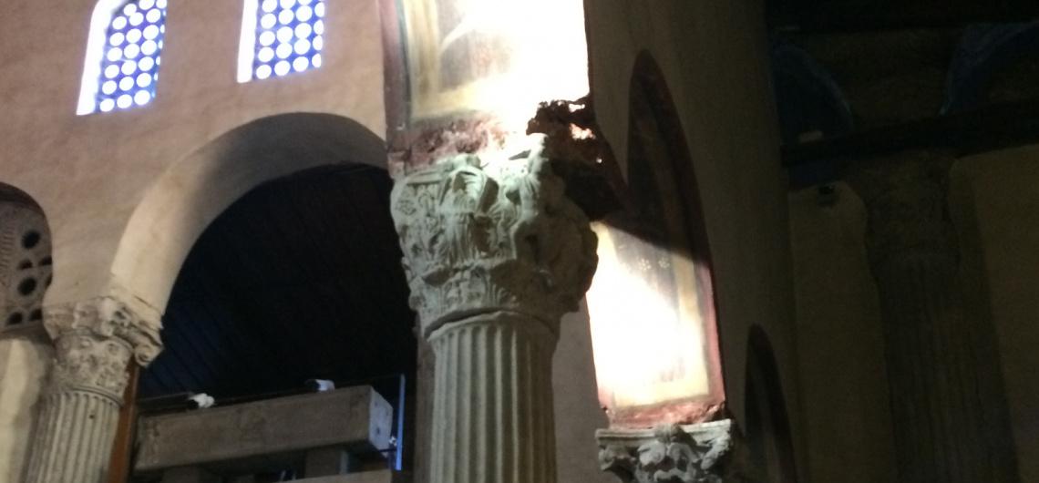 santa maria cosmedin capiteles