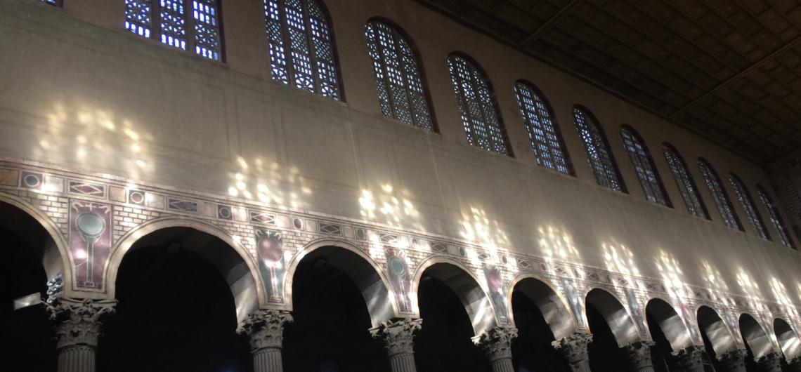 ventanas basilica santa sabina roma