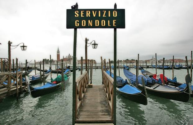 excursión venecia gondola