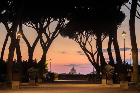 Tour de Roma al atardecer con degustación de vino y quesos