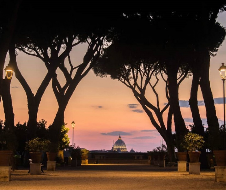 Tour de Roma al atardecer con degustación de vinos y quesos