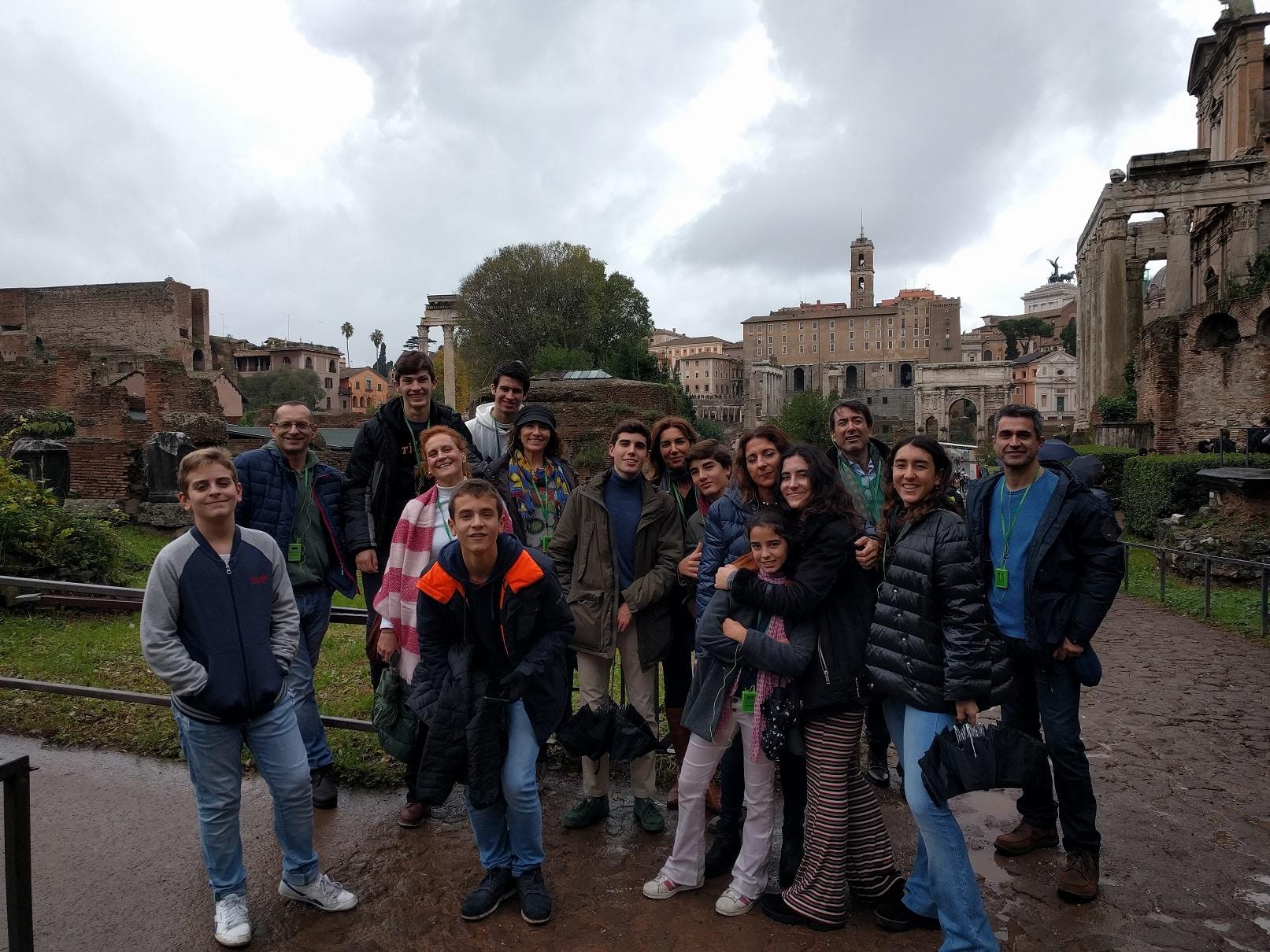 Busqueda roma antigua tour de grupo