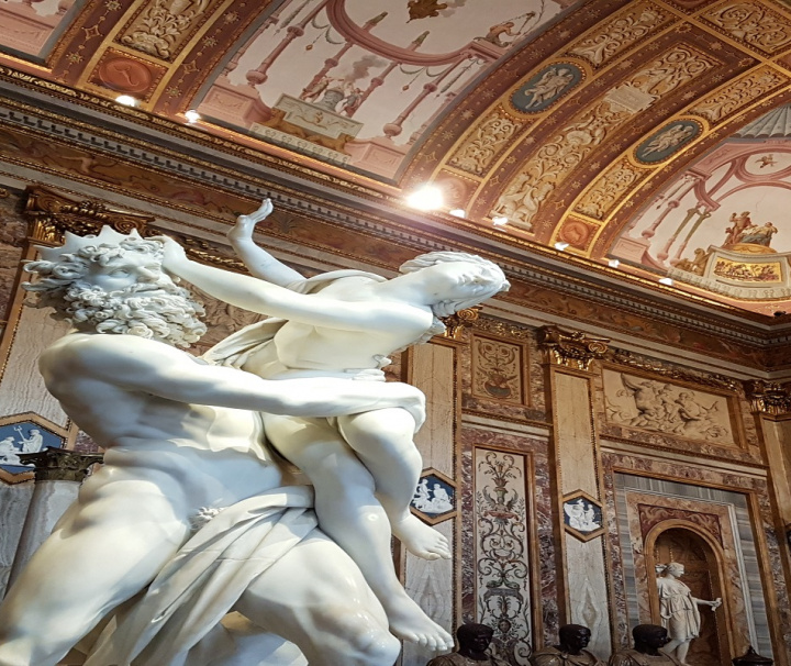 Visita Galería Borghese y Villa Borghese
