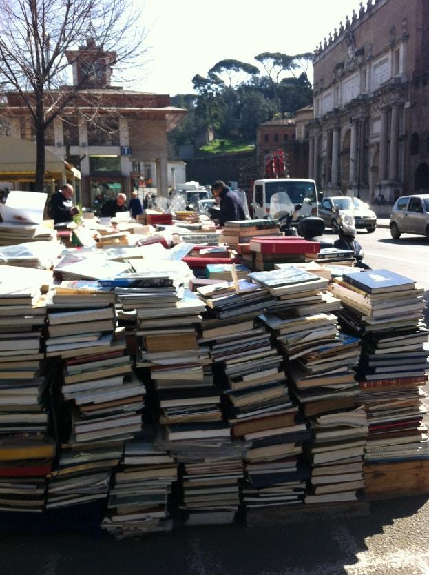libros en roma puerta flaminia