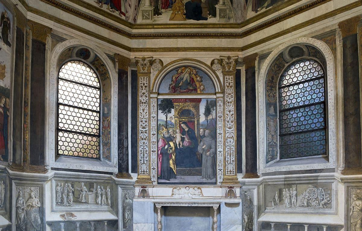 santa maria popolo capilla basso della rovere