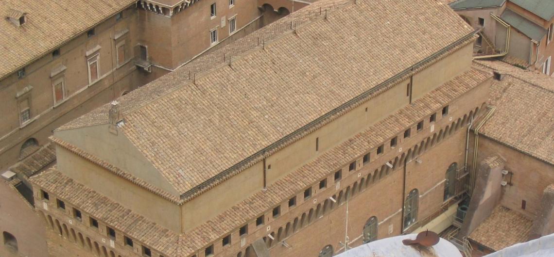 capilla sixtina exterior