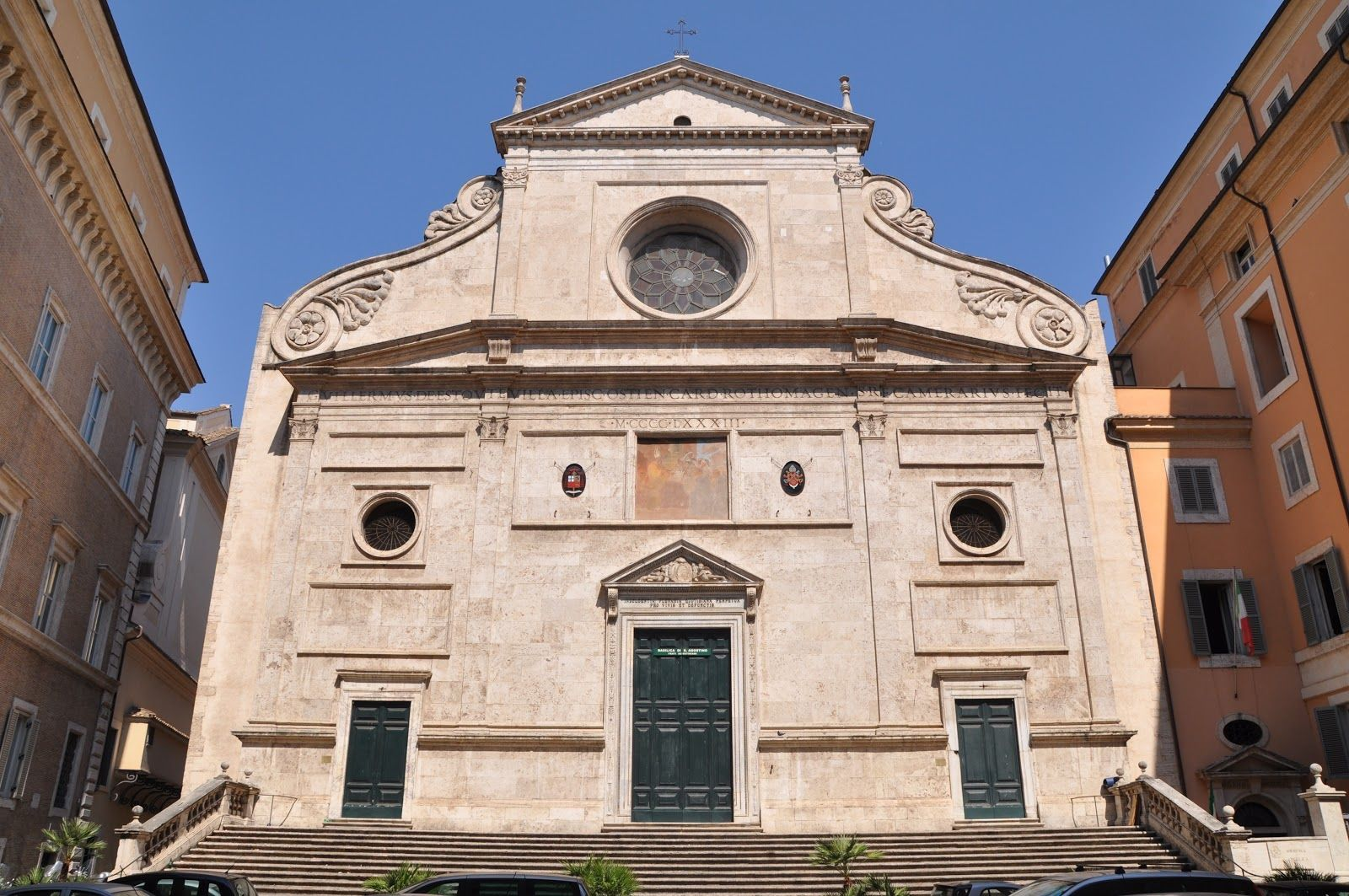 iglesia san agustin campo marzio roma