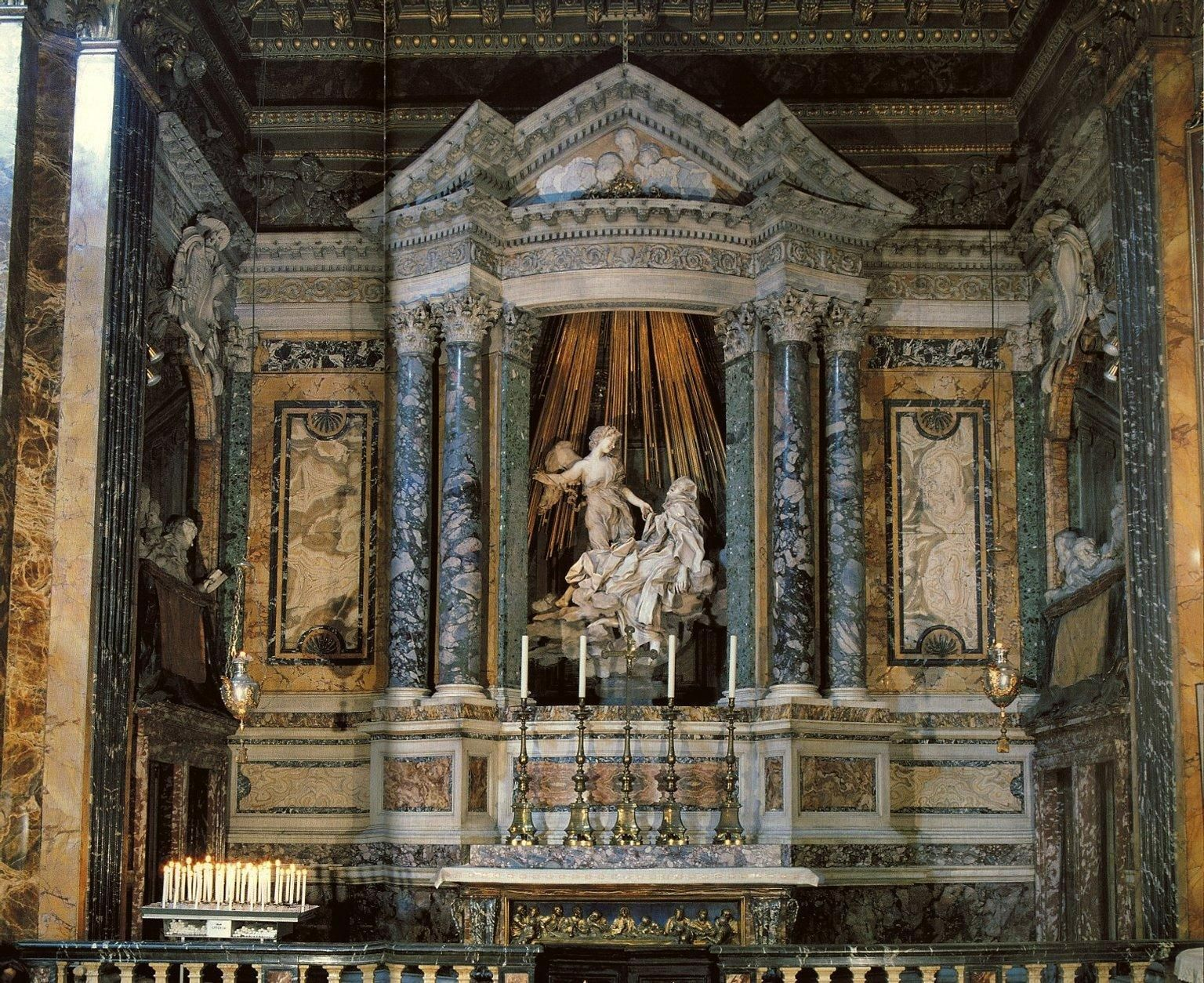 santa maria de la victoria capilla cornaro