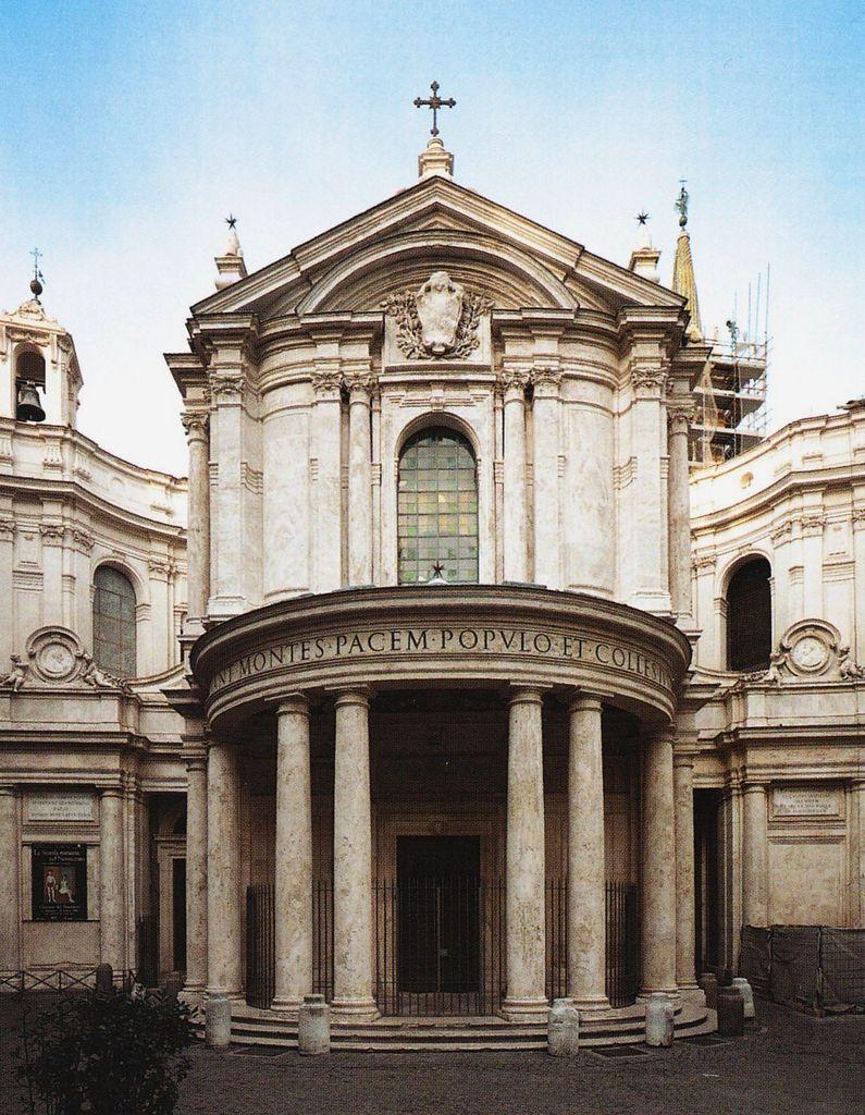 santa maria paz fachada