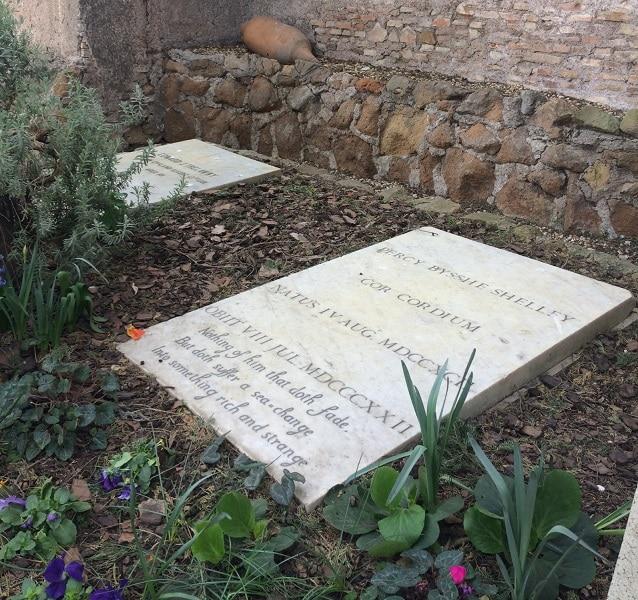 tumba shelley cementerio acatolico