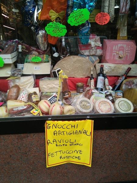 Regalos recuerdos Roma gastronomia