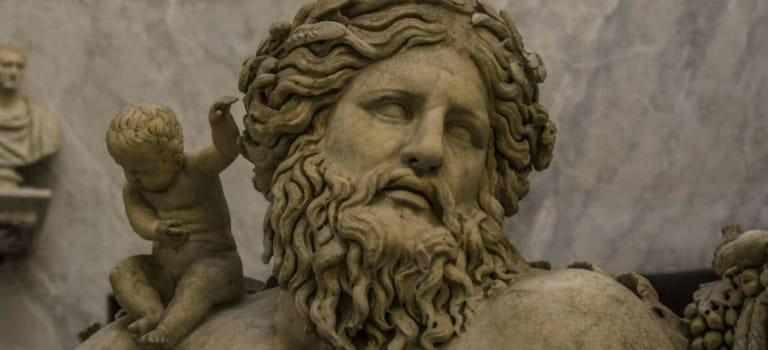 Alegoría río Nilo Museos Vaticanos