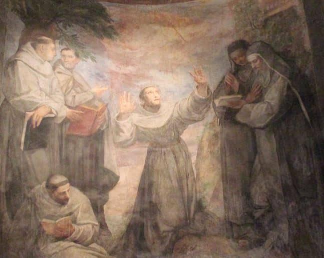 estigmas san francisco en san pietro in montorio