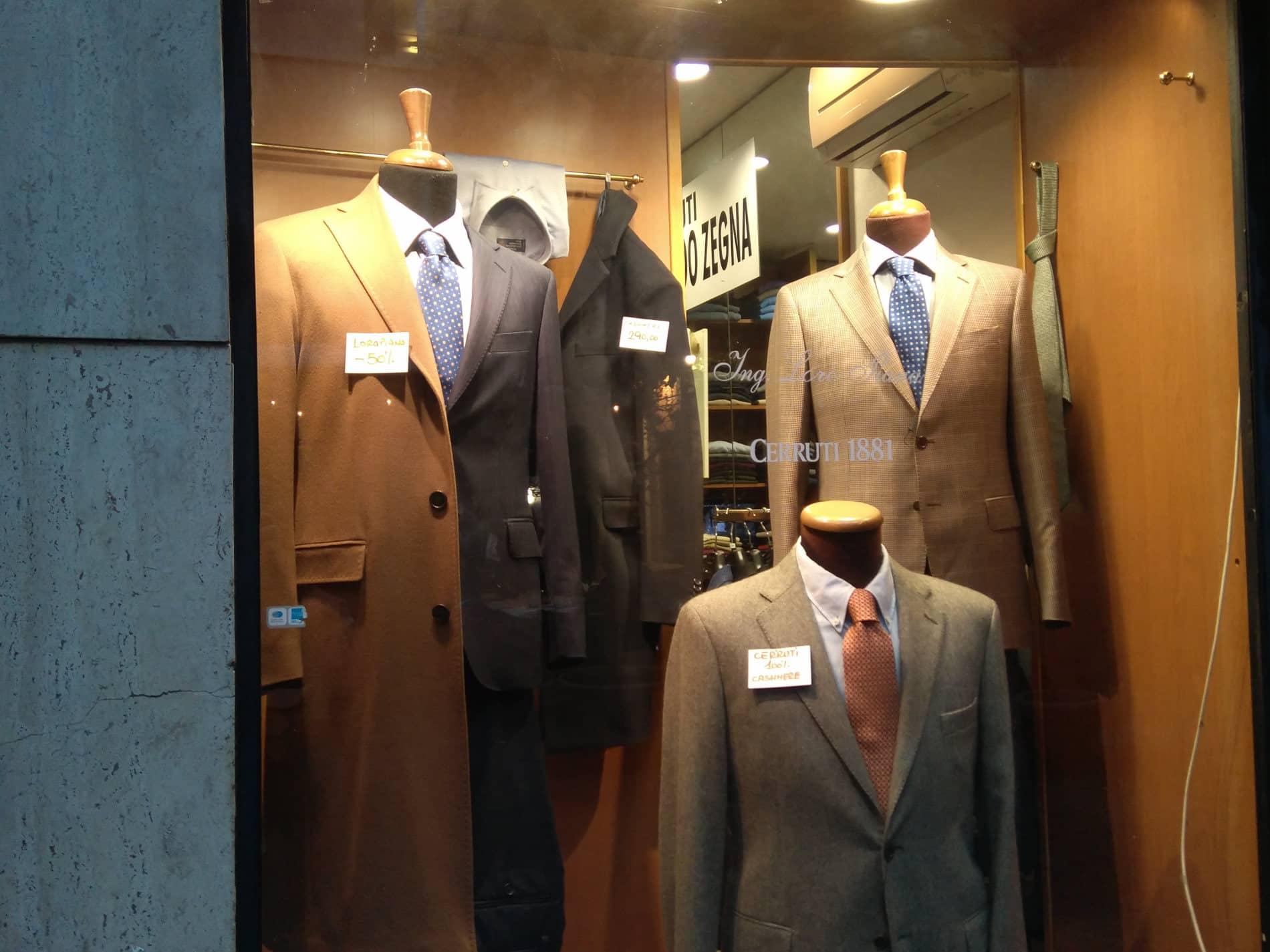 Regalos recuerdos Roma moda