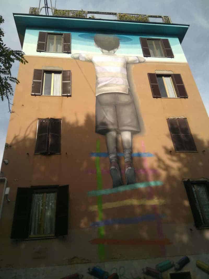 arte urbano murales tor marancia