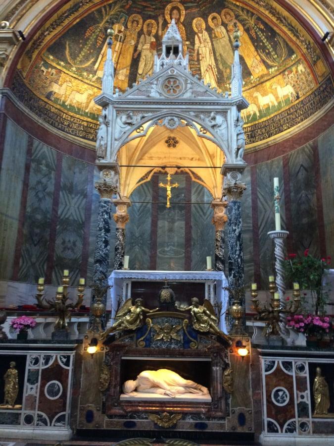Basílica de Santa Cecilia - Roma Trastevere