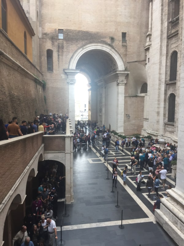 como subir a la cupula basilica san pedro roma