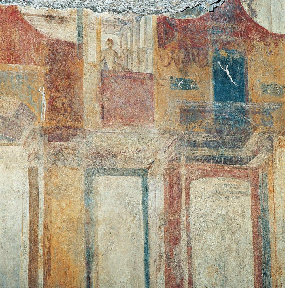 domus aurea frescos
