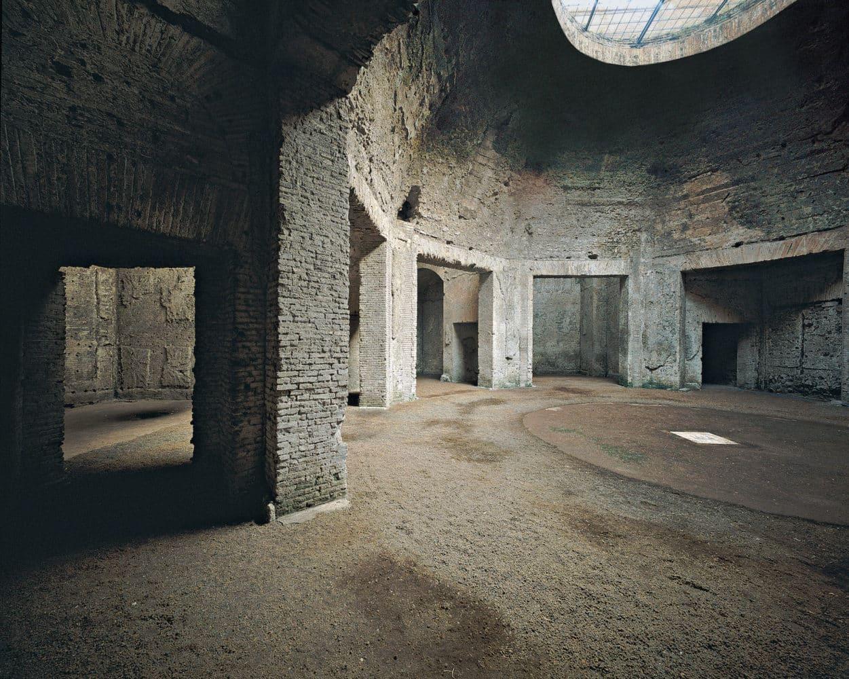 domus aurea sala octagonal