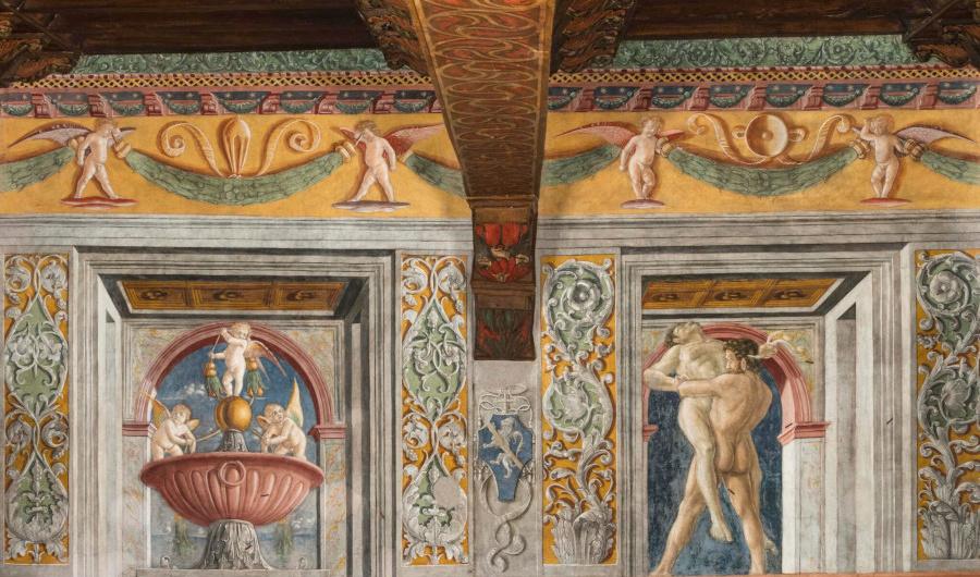 hercules y anteo palazzo venezia roma