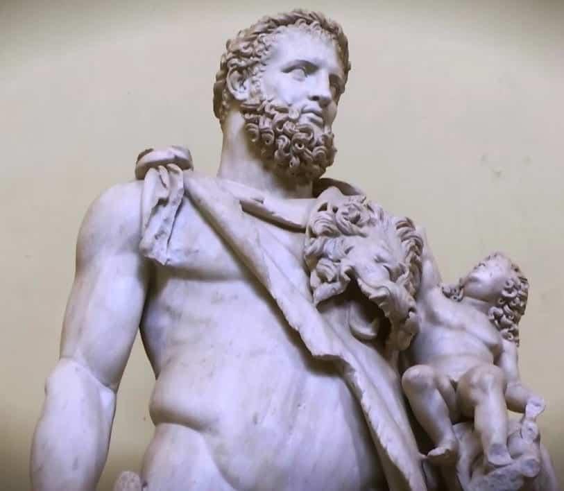 hercules y telefo museos vaticanos