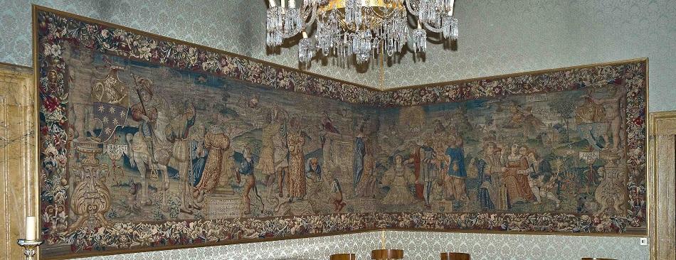 mito prometeo tapiz embajada españa roma