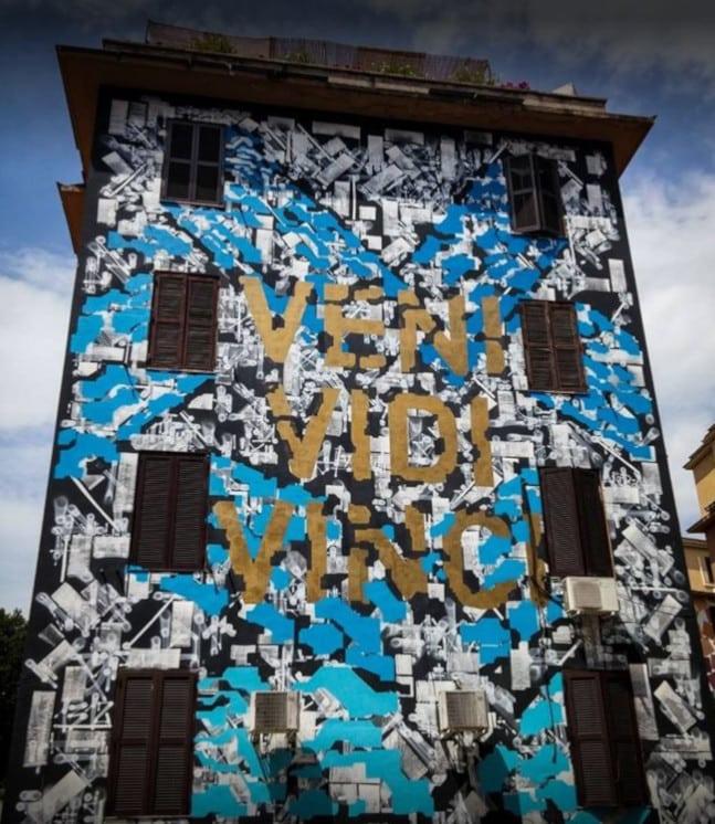 murales arte urbano tor marancia roma
