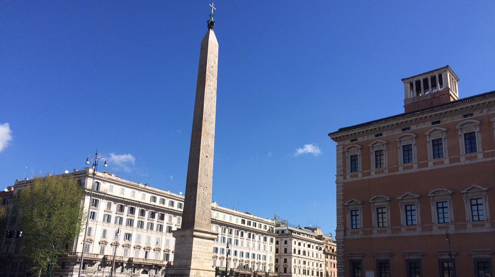 obelisco san juan letran roma