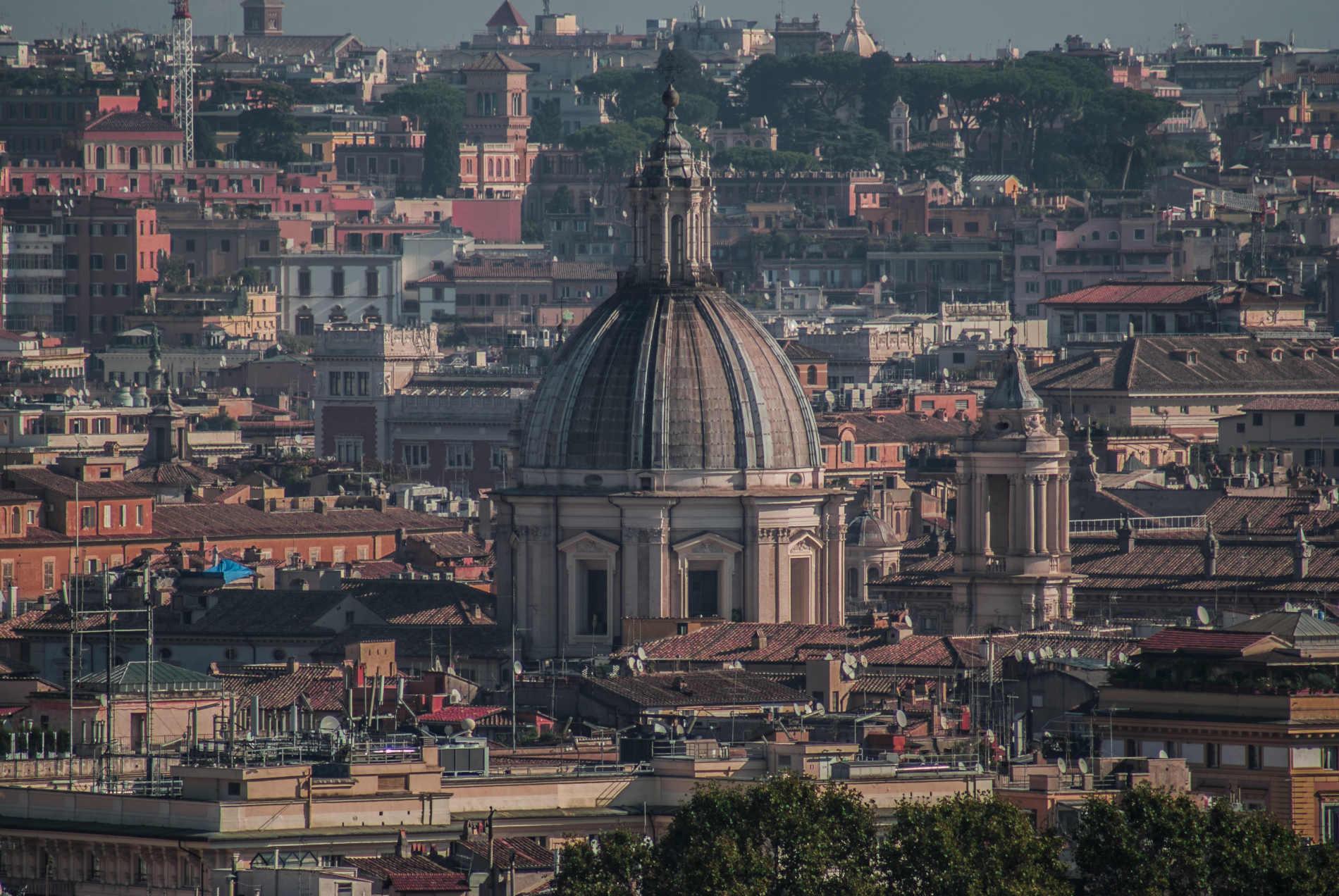 Ver atardecer en Roma desde el Gianicolo