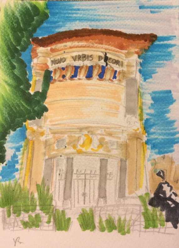 villa borghese daini color