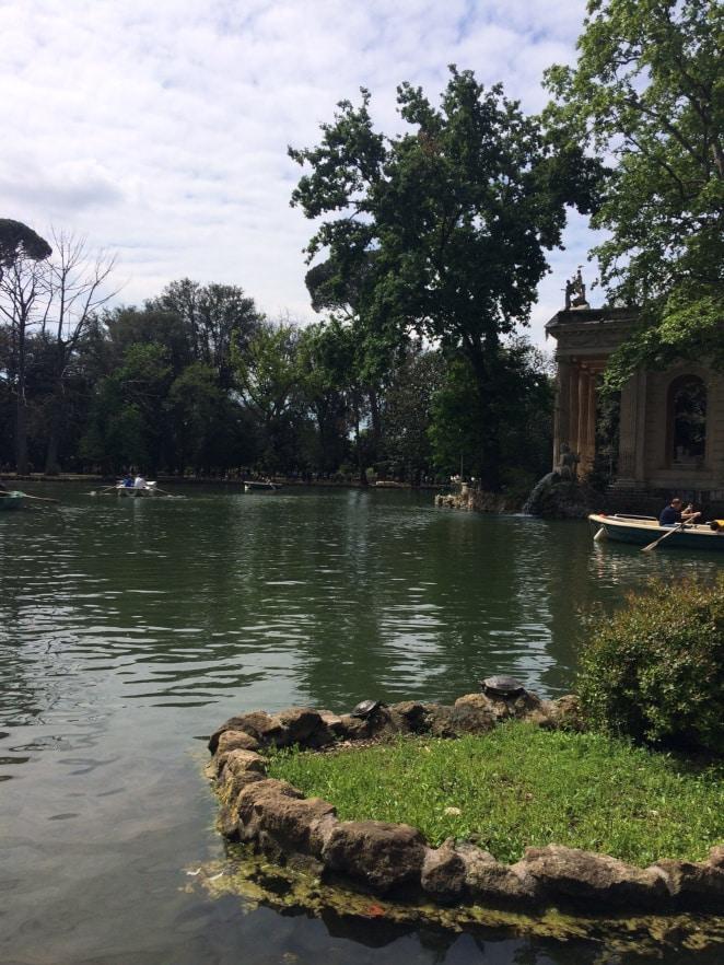 Lugares para correr en Roma. Villa Borghese