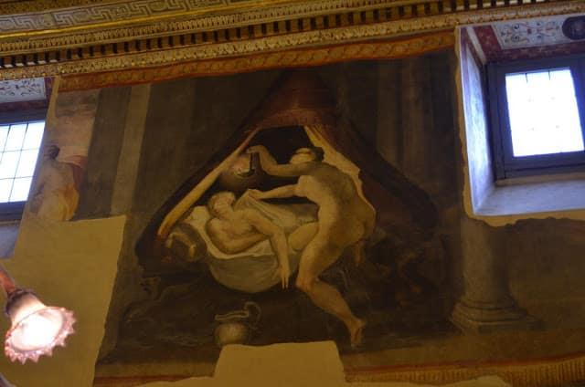 Galleria Spada y la perspectiva de Borromini