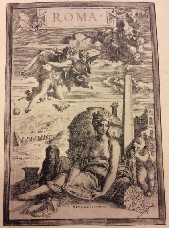 antiguedades romanas dibujo roma francisco holanda