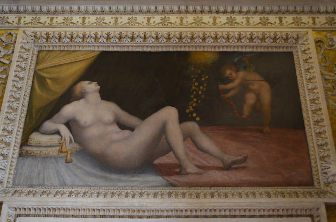 danae y la lluvia de oro mazzoni palacio spada 1551