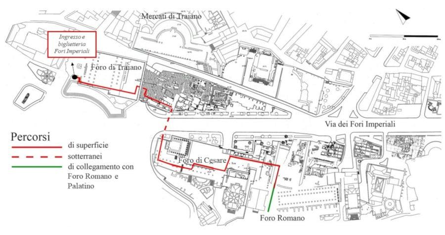 forum pass entrada foros imperiales foro romano y foros imperiales