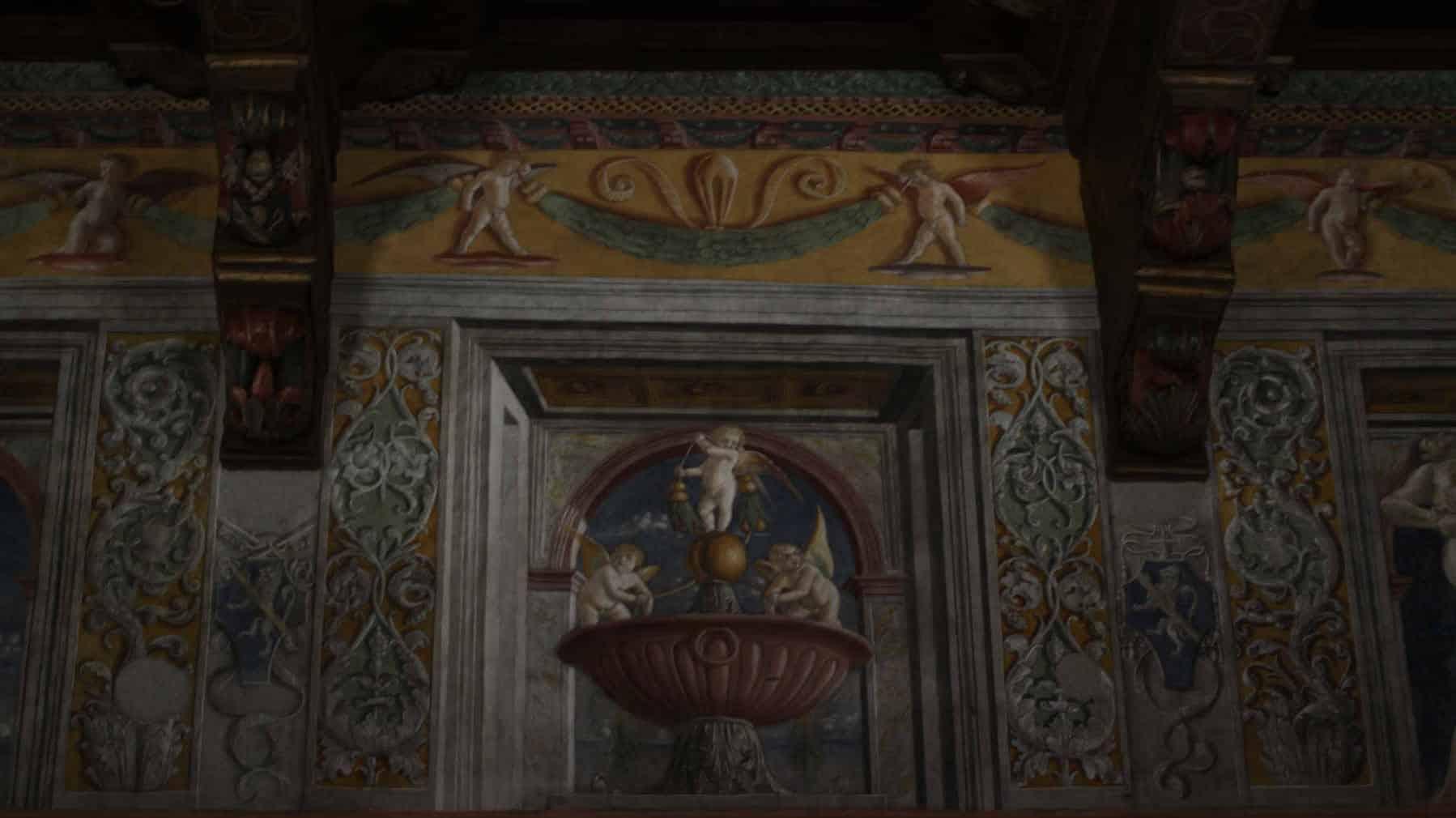 historia y curiosidades del palacio venecia sala papagayo