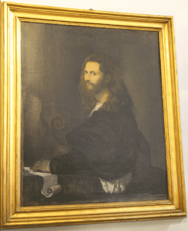 retrato musico tiziano galeria spada